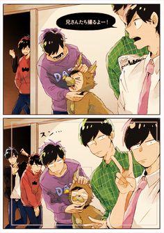 Osomatsu-san <== this would make the best draw the squad meme thing. im gonna do it. All Anime, Manga Anime, Sidon Zelda, Otaku, Kevedd, Osomatsu San Doujinshi, Japanese Cartoon, Ichimatsu, Anime Style