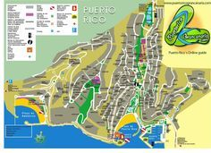 Puerto Rico Map Physical Puerto Rico Map Buckets And Vacation - Geographical map of puerto rico
