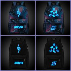 Naruto Backpack | High quality nigh glowing    #naruto #backpack #glowing #luminous #merchandise    https://www.animeprinthouse.com/collections/anime-backpack/products/naruto-backpack-high-quality-nigh-glowing-backpack