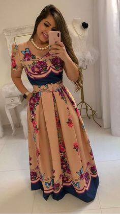 New Dress Midi Chiffon Beautiful Ideas Lovely Dresses, Trendy Dresses, Simple Dresses, Elegant Dresses, Casual Dresses, Short Dresses, Hijab Casual, African Fashion Dresses, African Dress