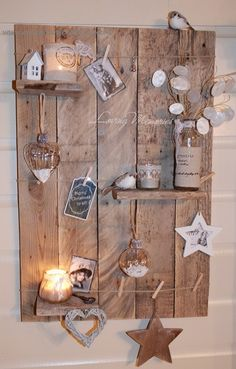 Decoratief wandbord 'Loving Memories'