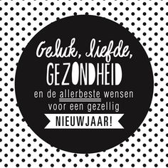 Happy New Year 2018 Quotes : Image Description Kaarten – nieuwjaar – hip nj