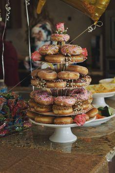 Bridal Brunch - DIY Donut Cake