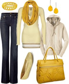 """yellow fever"" by htotheb ❤ liked on Polyvore"