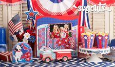 Patriotic Parade SVGCuts.com