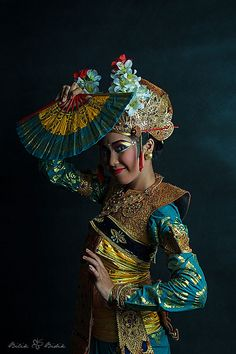 Penari Legong, Bali - Indonesia