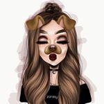 drawings of girls Tumblr Drawings, Girly Drawings, Cool Drawings, Sarra Art, Dibujos Tumblr A Color, Girly M, Illustration Mode, Illustrations, Cute Girl Drawing