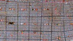Ciudad Nezahualcoyotl, en México | 45 fotos satélites increíbles que te harán ver el mundo de manera diferente. www.imaginario.es