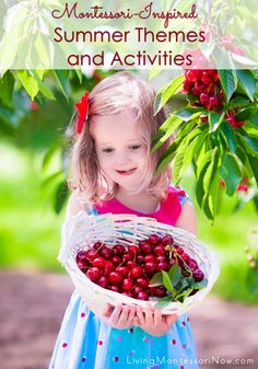 """LOTS of Montessori-inspired summer themes and activities to prevent """"summer slide"""" and continue young children's learning with fun, hands-on activities; activities for toddlers through early elementary Panda Activities, Holiday Activities, Hands On Activities, Summer Activities, Toddler Activities, Grammar Activities, Science Activities, Toddler Crafts, Montessori Baby"""