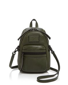 Marc By Marc Jacobs Domo Biker Mini Backpack Crossbody
