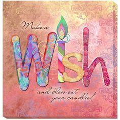 <li>Artist: Connie Haley</li> <li>Title: Wish</li> <li>Product type: Gallery-wrapped giclee</li>