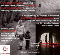 """I No Longer Feel Ashamed About What Happened To Me"" ~ Domestic violence survivor #seethetriumph"