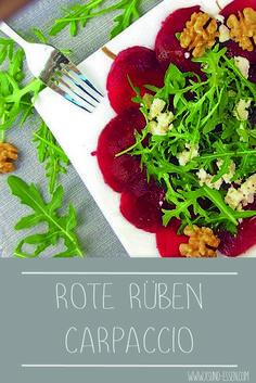 Herrliches Wintersalat Rezept mit roter Rübe, Walnüssen, Ruccola und Mozzarella.