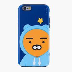 Kakao Friends Iphone 6 6 plus 7 7 Plus Ryan Color Combo Mobile Case Cover 118 #KakaoFriends