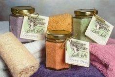 Make Your Own Dead Sea Salt Body Scrub