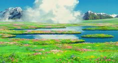 67 Studio Ghibli Backgrounds Wallpapers available. Share Studio Ghibli Backgrounds with your friends. Submit more Studio Ghibli Backgrounds Art Studio Ghibli, Studio Ghibli Movies, Hayao Miyazaki, Howls Moving Castle Wallpaper, Anime Studio, Personajes Studio Ghibli, Studio Ghibli Background, Scenery Background, Castle Background