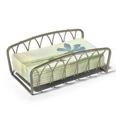 Stylishly display your guest towels with the Twist Guest Towel Holder.