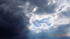 Black storm clouds :)