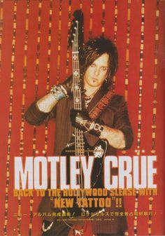Motley Crue (Jul/2000/BURRN!)