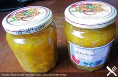Rhabarber - Mango - Marmelade, ein beliebtes Rezept aus der Kategorie Frucht. Bewertungen: 4. Durchschnitt: Ø 4,0.