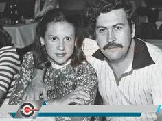 Pablo Escobar and wife Pablo Emilio Escobar, Pablo Escobar Wife, Pablo Escobar Family, Mafia, Narcos Pablo, Colombian Drug Lord, Manolo Escobar, James Franco, Couple Halloween Costumes