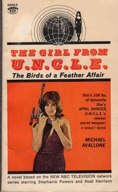 Stephanie Powers as April Dancer, Girl From U.N.C.L.E.