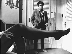 "the movie ""the graduate"" - ""mrs. robinson, you're trying to seduce me, aren't you?""  1967"