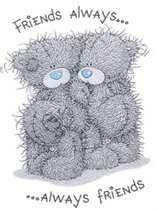 tatty teddy friends always