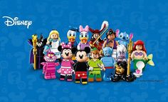"""LEGO on Instagram: """"Enjoy new, magical adventures with #LEGO Minifigures The #Disney Series available now! #LEGOMinifigures"""""""