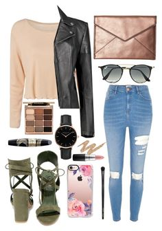 """""""😽"""" by aligator16 ❤ liked on Polyvore featuring River Island, Boohoo, So Me, Rebecca Minkoff, Ray-Ban, Casetify, Topshop, Stila, Max Factor and INIKA"""