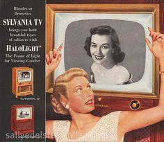 Sylvania TV Ad 1951