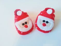 Santa Baby Shoes, Soft Sole Baby Shoes, Aqua Baby Booties, Christmas Toddler slippers, Christmas Baby Shoes, Santa Baby by Cuddlythreads on Etsy
