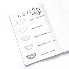 Did I spell lemon right? How about wedge? Is wedge the right name for this? ➖ The struggles of inking and making sure words are spelled correctly. No joke, it gives me anxiety to write headers in my journal. ➖ Here's another #drawwithjeng tutorial. This one is super simple and fun to draw! #inkillustration #drawingtutorial #howtodraw