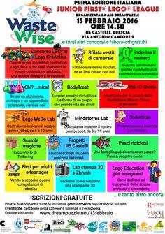 Junior First Lego League a Brescia http://www.panesalamina.com/2016/44787-waste-wise-a-brescia.html
