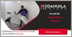 Para nosotros es sumamente importante el desgaste de tu vehiculo ocasionado por imprevistos, por eso te invitamos a acudir a nuestro taller de Hojalateria y Pintura mas moderno de la localidad ubicado en Nazario Ortiz Garza 1750 Col Alpes en Saltillo, Coahuila.