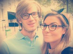 pewdiepie and marzia <3