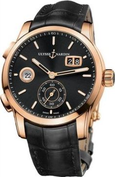 Ulysse Nardin Dual Time Manufacture 42mm   Men's Watch 3346-126/92 MSRP: $26,500.00