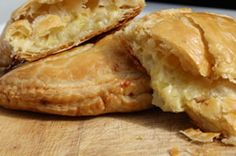 Cheese and Onion Pasties : This cheesy pasty is a delicious alternative to the regular Cornish pasty and is quick and easy to make. A rich and comforting pasty full of cheesy goodness, not good for the waistline but utterly satisfying!