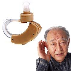 1 Pc terbaik nada Digital alat bantu dengar, Di belakang telinga suara amplifier, Adjustable # LY069