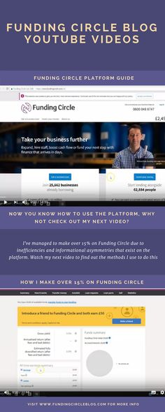 Check out my YouTube videos on how I invest in Funding Circle