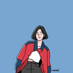 """nano project / ari attic on Instagram: """"(113) . . #illust #illustration #drawing #doodle #daily #dailylook #character #fashionillustration #graphic #artwork #イラスト #일러스트 #그림 #드로잉…"""" Simple Illustration, Character Illustration, Girl Cartoon, Cartoon Art, Character Art, Character Design, Ligne Claire, Dibujos Cute, Illustrations And Posters"""