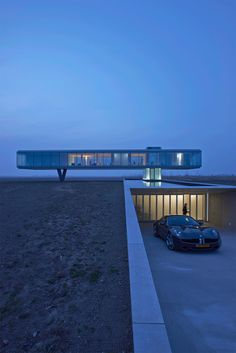 Villa Kogelhof by Paul de Ruiter Architects. Location: Kamperland, The Netherlands.
