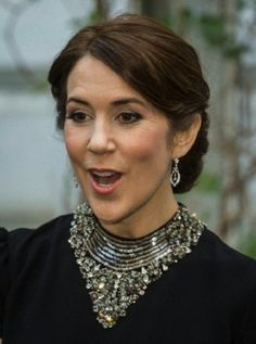 Denmark's Crown Princess Mary on an official visit to Poland from May 12-14, 2014