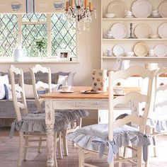 Inspiration French country dining room by 1richtungsblog, via Flickr