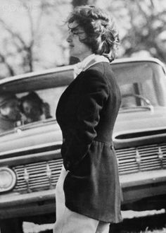 Jacqueline Kennedy at Piedmont Foxhounds Races