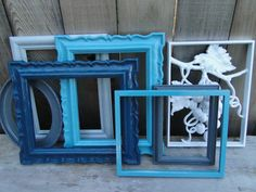 painted vintage frames