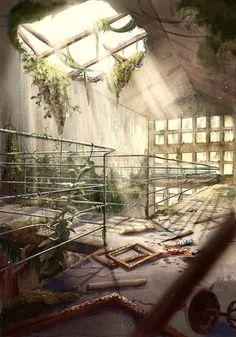 Post apocalyptic art school by Igson93 Post apocalyptic art school by Igson93