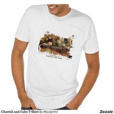 Cheetah and Cubs T-Shirt