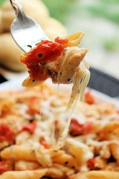 Grilled Chicken Penne...another recipe for your deep covered baker.