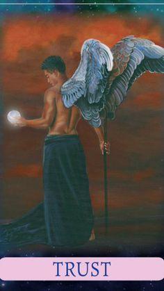 Indigo Angel Oracle Cards - Trust